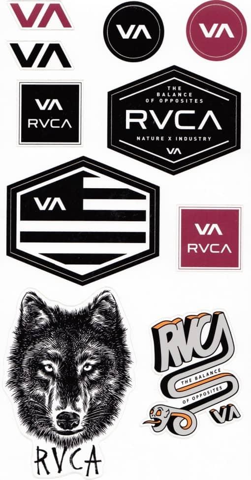 rvca-10-sticker-variety-pack-multi (1) - Wild Child Sports