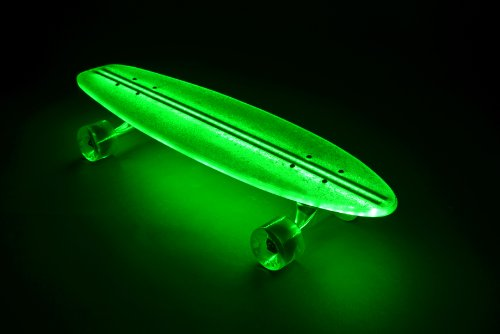 Flexdex Green Light Up Led Skateboard Wild Child Sports