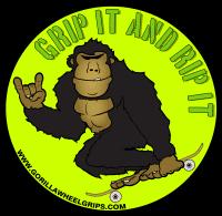 Gorilla Wheel Grips Skateboard Trick Trainer Wild Child