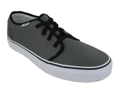 6ef651a757 Vans Unisex 106 Vulcanized Core Classics Pewter Black Men s 10.5 ...