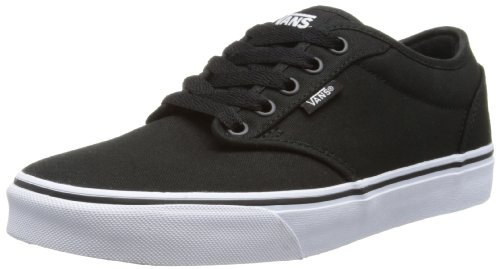 98cd8d517b Vans Men s VANS ATWOOD (CANVAS) SKATE SHOES 10.5 Men US (BLACK WHITE ...
