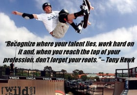 Extreme Sports Quote of the Week – Tony Hawk