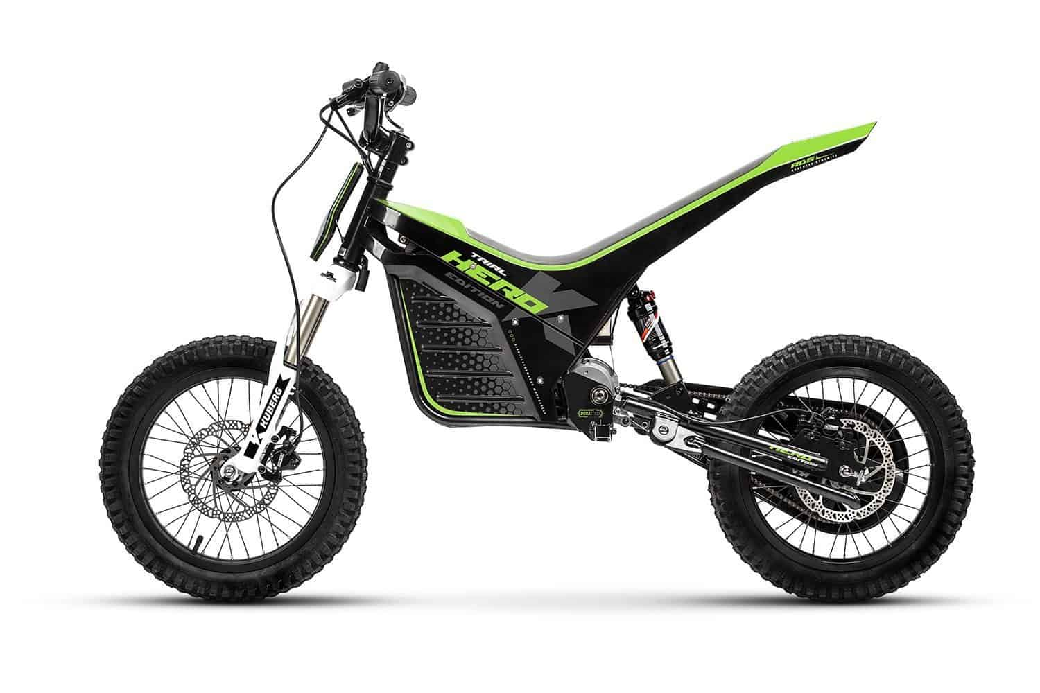 best electric dirt bikes 2017 for kids kuberg trial hero. Black Bedroom Furniture Sets. Home Design Ideas