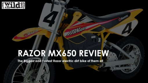 Razor MX650 Electric Dirt Bike