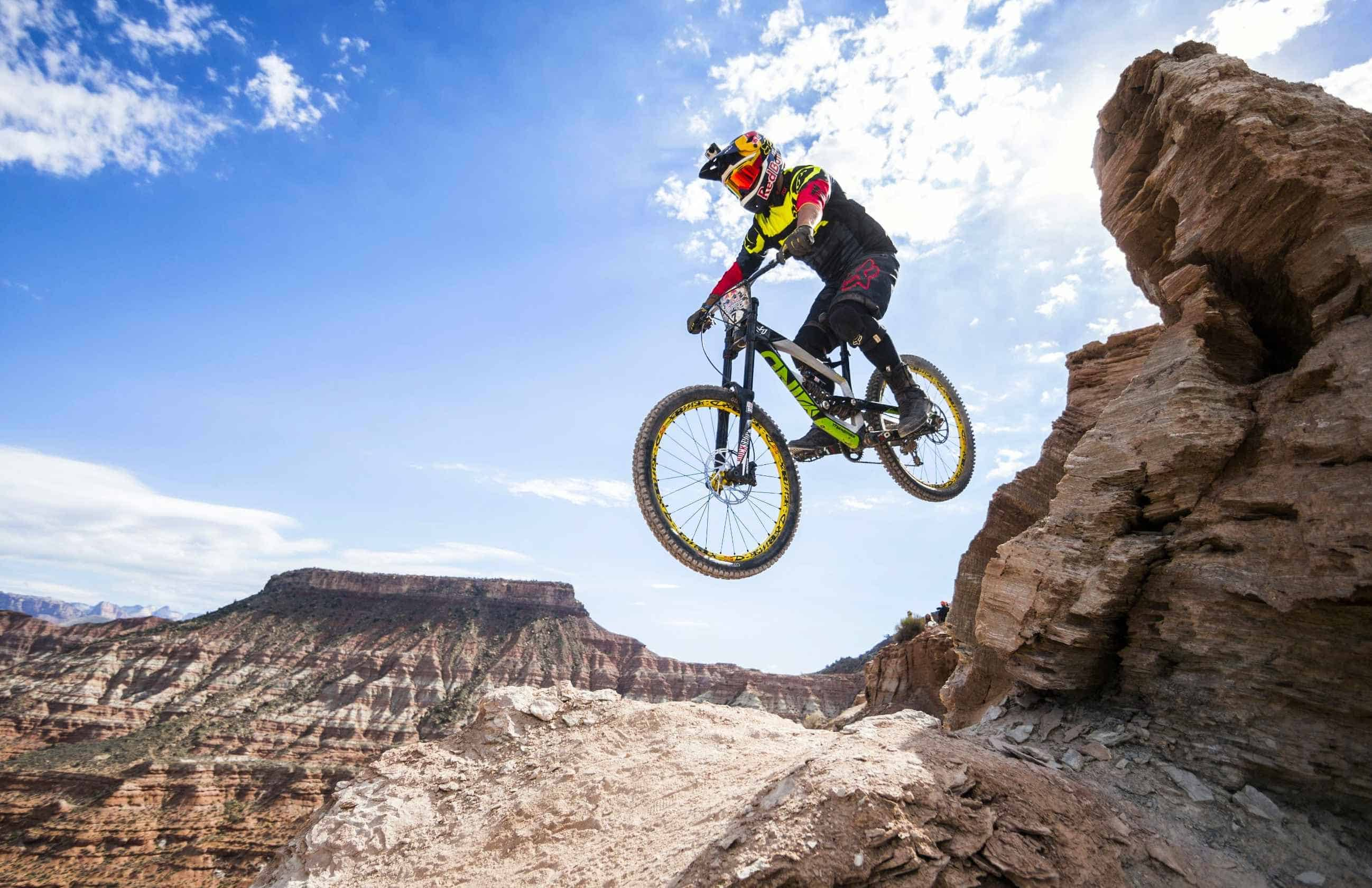 Red Bull Mountain Bike >> Red Bull Rampage Gopro Mountain Bike Video Wild Child Sports