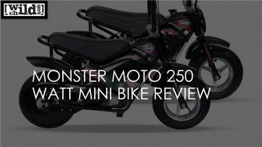 Monster Moto 250 Watt Electric Mini Bike