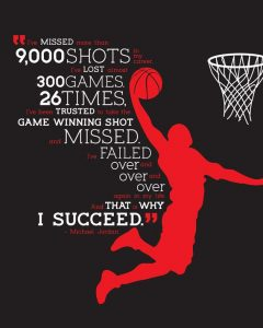 Michael Jordan Commercial about failure