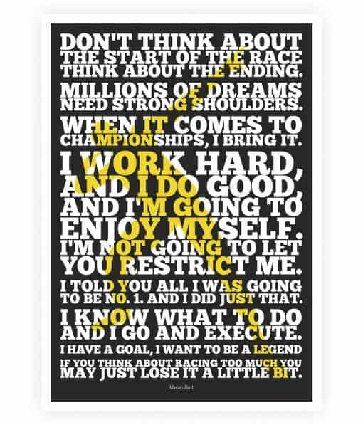 Sports Quotes Posters