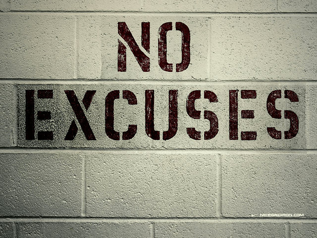 Excuses Quotes Enchanting No Excuses Quotes  Our Top 10  Wild Child Sports