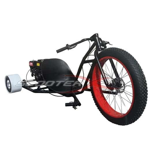 ScooterX Drifter Drift Trike – Drifting at 30mph!