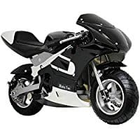 mototec gas pocket bike black