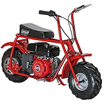 Kids Gas Powered Mini Bike – Coleman Powersports CT100U