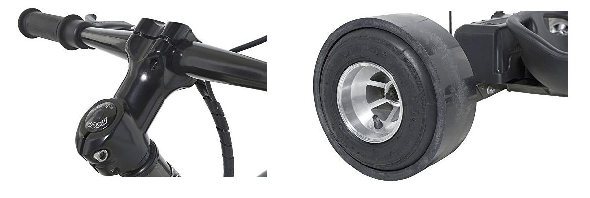 Electric Powered Drift Trike - Dynacraft Black Ice eDrifter