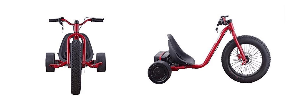 Fat Tire Electric Drift Trike by Go-Bowen
