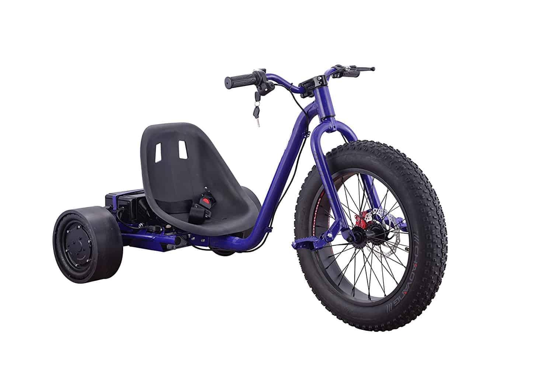 Fat Tire Electric Drift Trike by Go-Bowen - Wild Child Sports