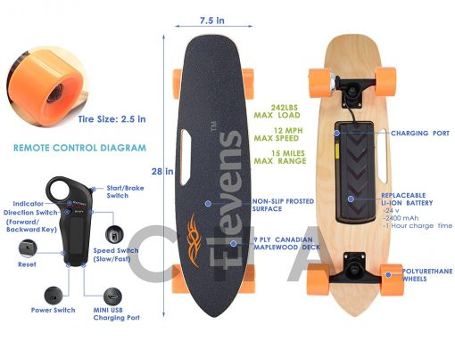 Cheap Electric Skateboard - Elevens Electric Skateboard