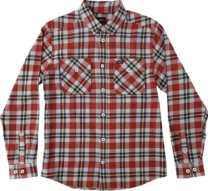 RVCA Flannel – That'll Work Long Sleeve Shirt