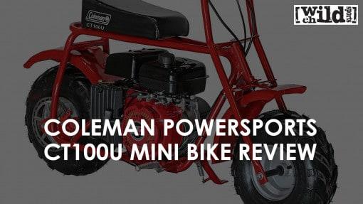 Kids Gas Powered Mini Bike - Coleman Powersports CT100U
