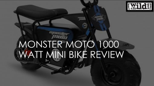 Monster Moto 1000 Watt Electric Mini Bike Review
