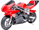 Kids Gas Powered Pocket Bike - Rosso Motors F1 Racer
