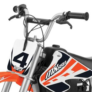 Orange Razor Dirt Rocket MX650