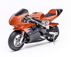 Kids Gas Powered Pocket Bike - Rosso Motors F1 Racer