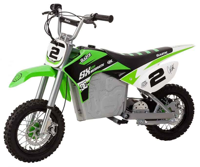 Green Razor SX500 McGrath Electric Dirt Bike