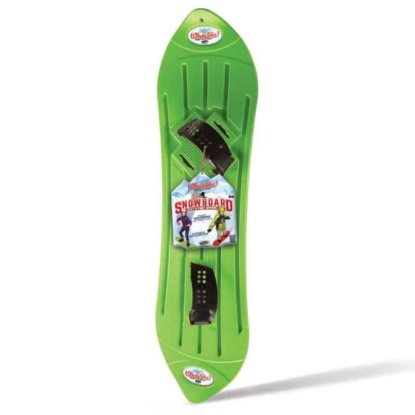 Cheap Plastic Snowboard - Sledsterz Geospace Snowboard