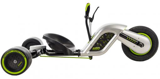 Kids Electric Drift Trike - Huffy Electric Green Machine