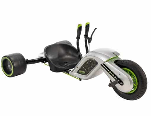 Kids Electric Drift Trike - Huffy Electric Green Machine