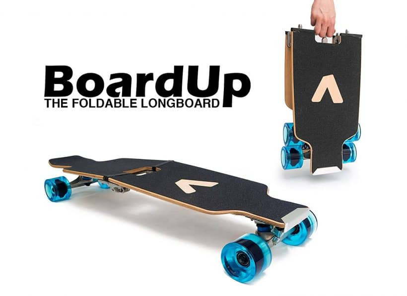 Portable Skateboard - BoardUp Folding Longboard