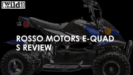 Kids Quad - Rosso Motors 500W eQuad S Review
