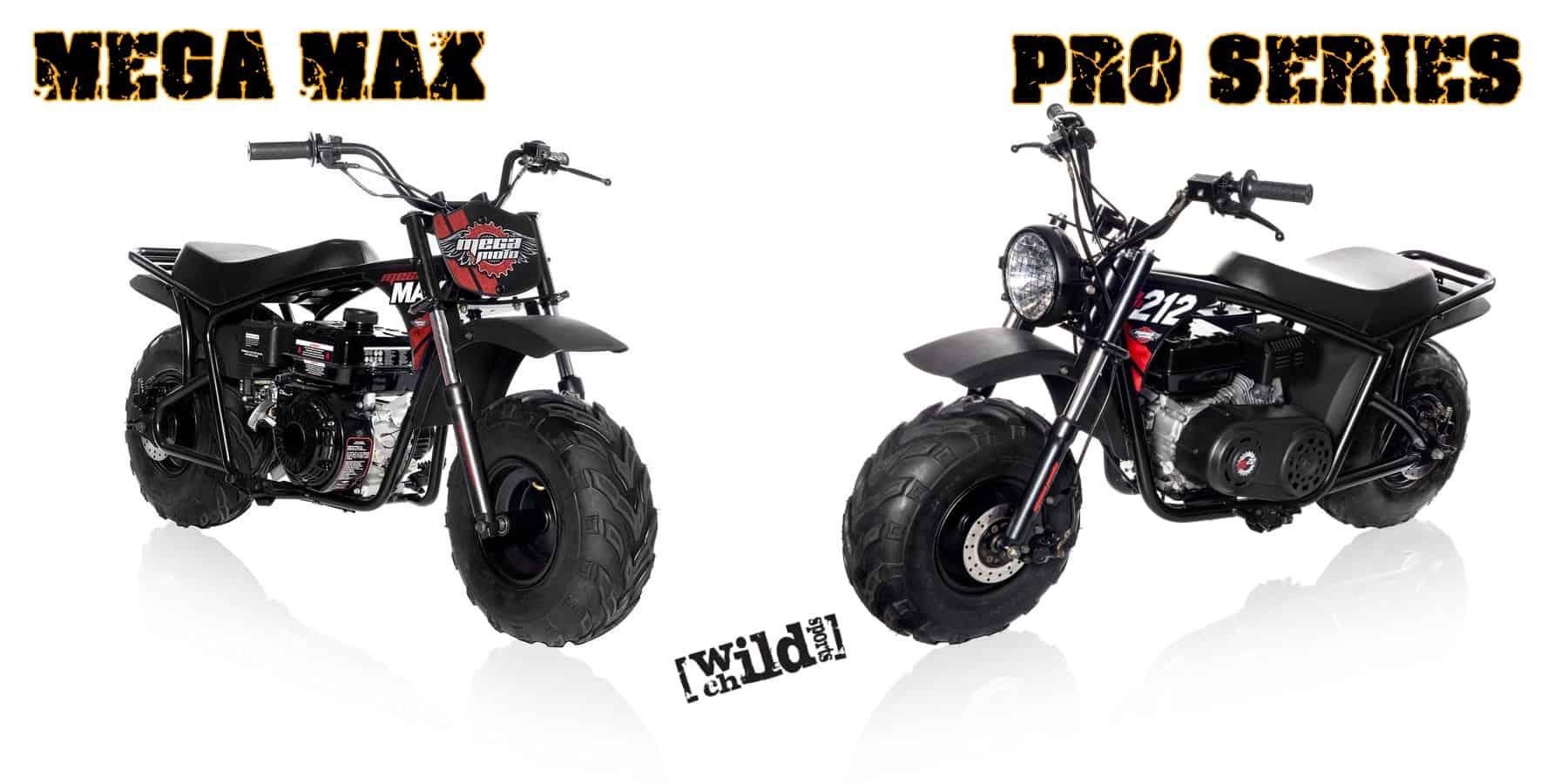 mega moto 212 cc mini bikes