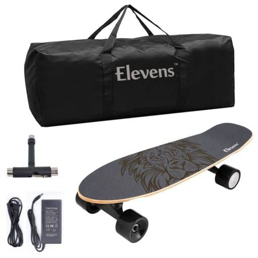 hands free electric skateboard wild child sports