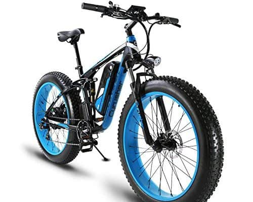 Electric Fat Tire Bike - Cyrusher 1000W