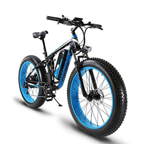 Electric Fat Tire Bike - Cyrusher 1000W