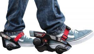 wearing razor turbo jetts electric skates