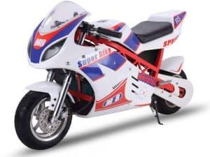 MotoTec electric pocket bike