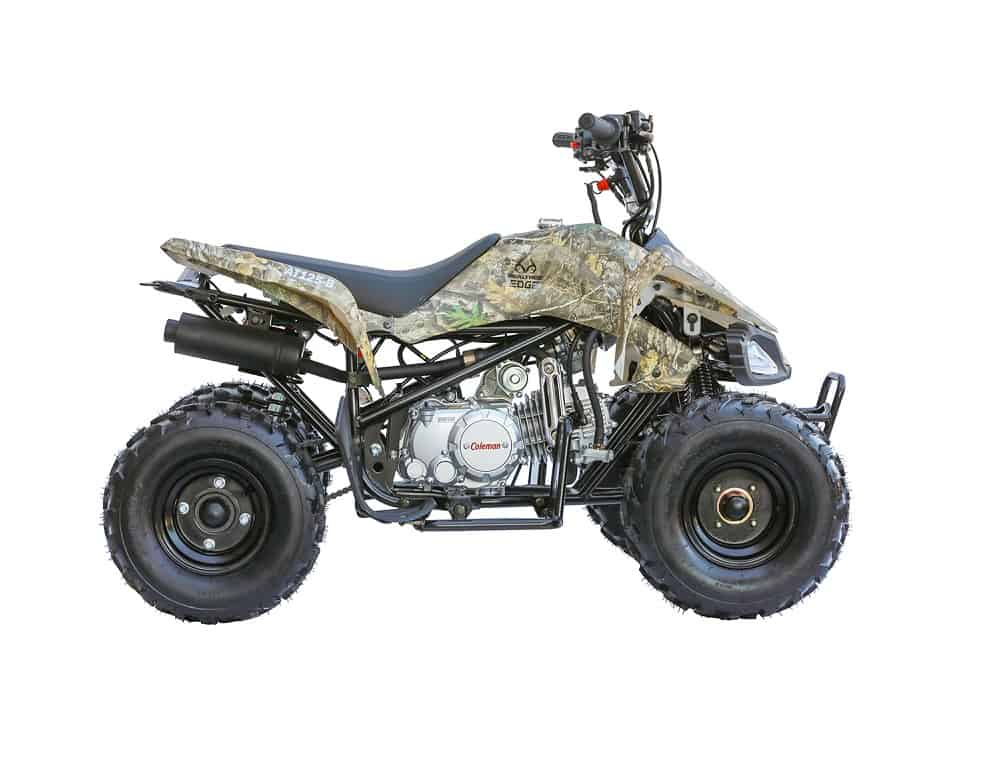 Mini Four Wheeler - Coleman Powersports Quad