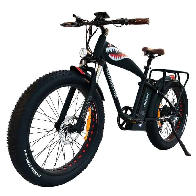 Electric bicycle by addmotor the motan