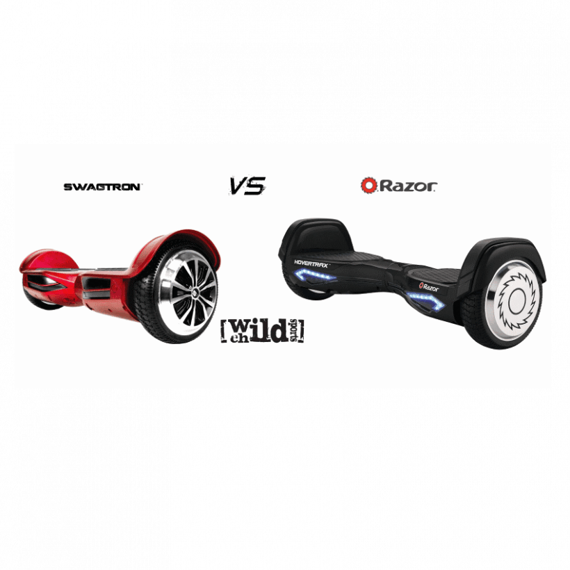 Swagtron T380 Hoverboard vs Razor Hovertrax 2.0 Hoverboard