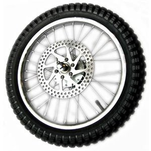 Razor Dirt Bike Parts - Front Wheel Assembly