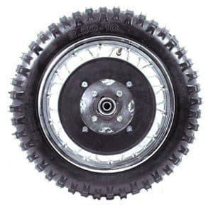 Razor Dirt Bike Parts - Rear Wheel Assembly