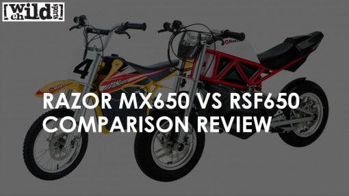 Razor MX650 VS RSF650 Comparison Review