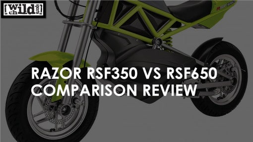 Razor RSF350 VS RSF650 Comparison Review