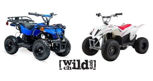 Rosso Motors eQuad X VS Razor Dirt Quad 500