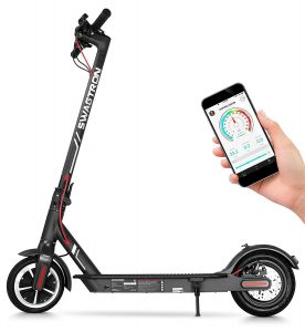 Fast electric scooter - swaggtron swagger 5 elite