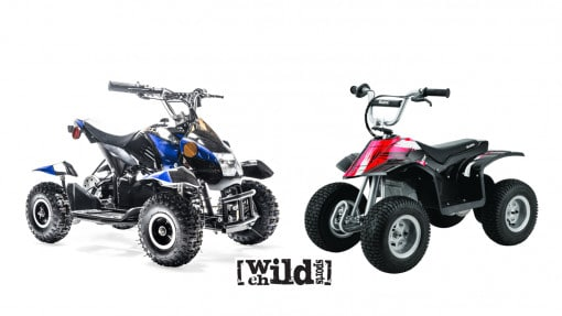Rosso Motors eQuad VS Razor Dirt Quad