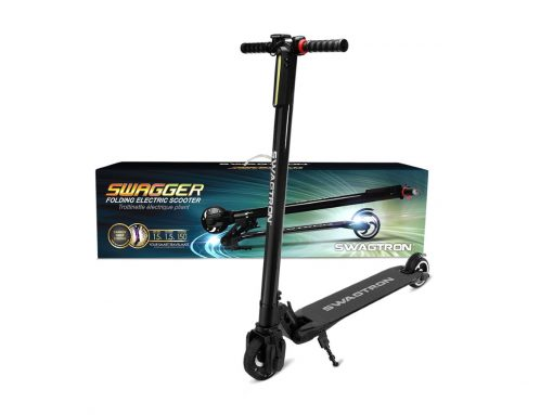 swaggtron swagger 1 adult electric scooter with packaging
