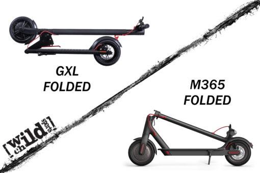 GOTRAX GXL VS XIAOMI 365 FOLDED 22